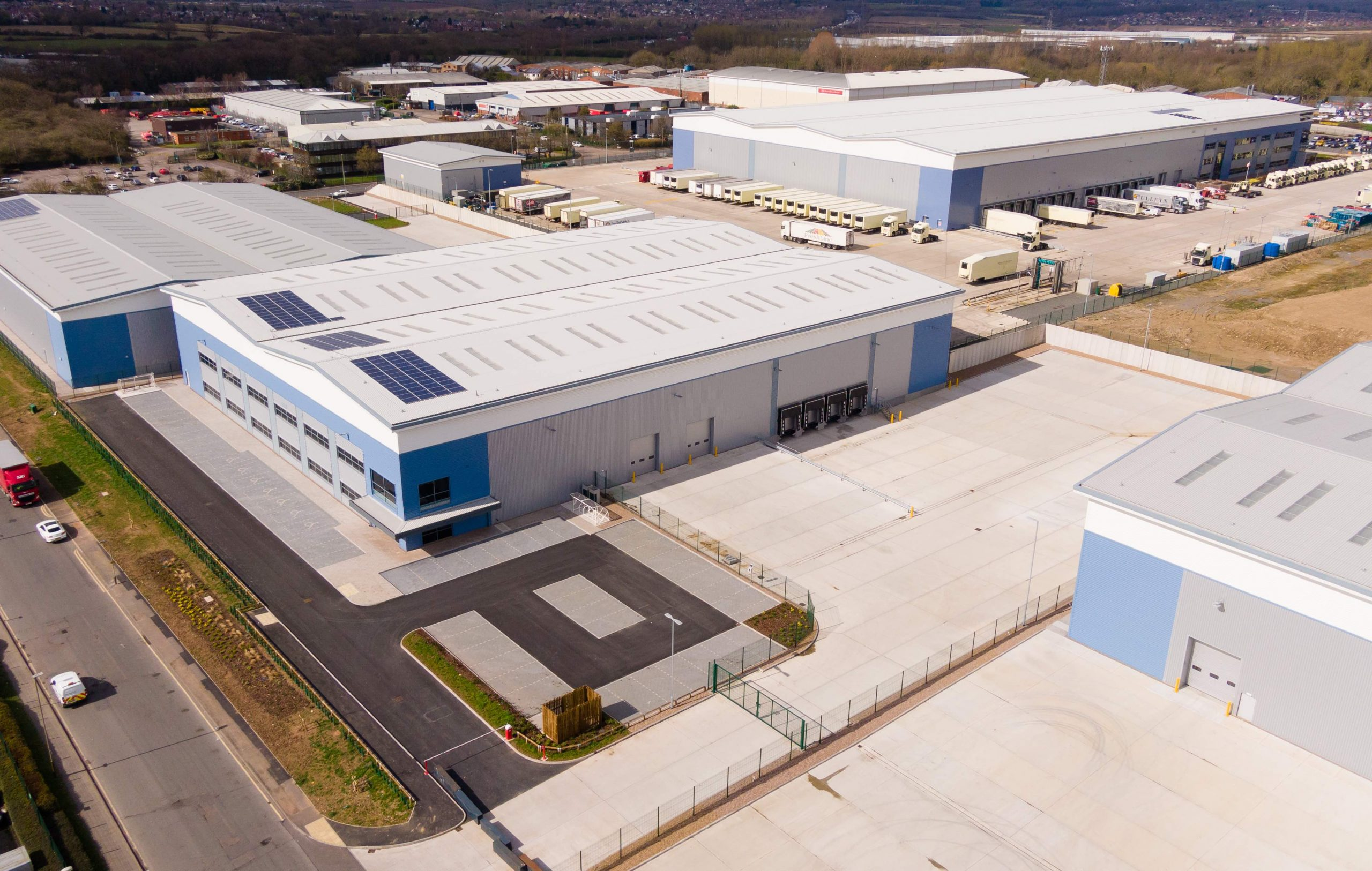 Graftongate agrees double letting at Leicester Distribution Park